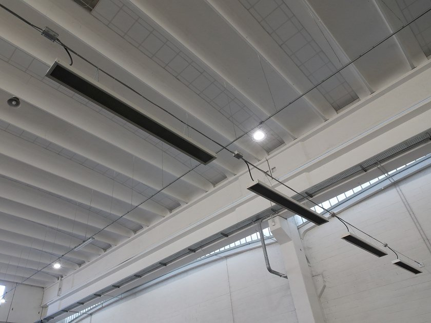 Diffusore radiante per interni BLACK SUN by AMA Composites