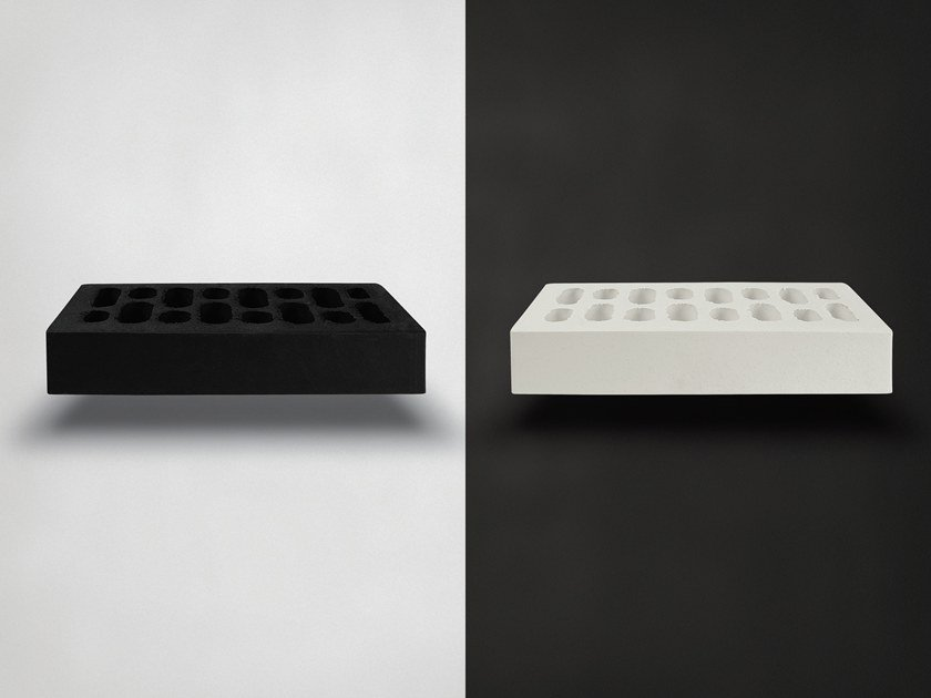 Fair faced clay brick BLACK+WHITE by FORNACE S. ANSELMO
