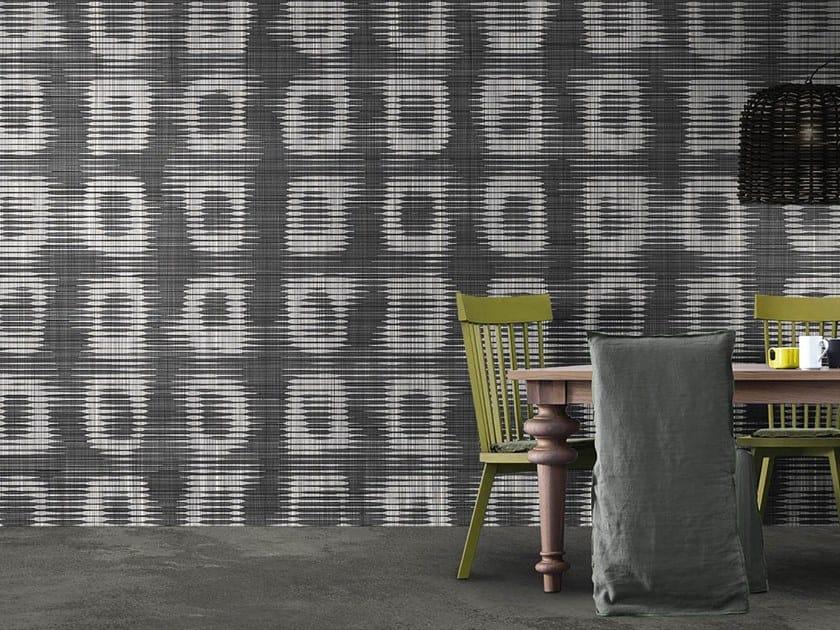 Vinyl or fyber glass wallpaper BLACK & WHITE RAW by N.O.W. Edizioni