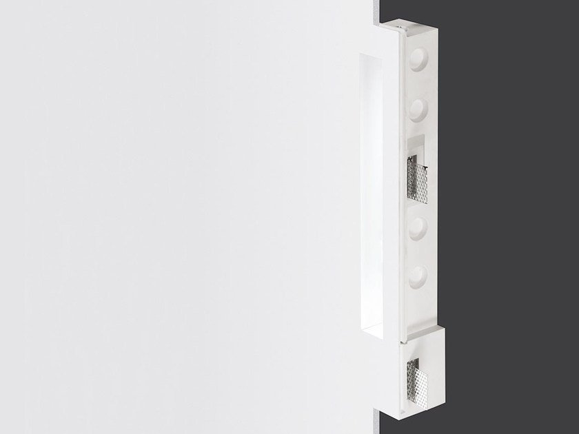 Direct light recessed Coral Water Out® wall lamp BLADE IP44-IP65 by Buzzi & Buzzi
