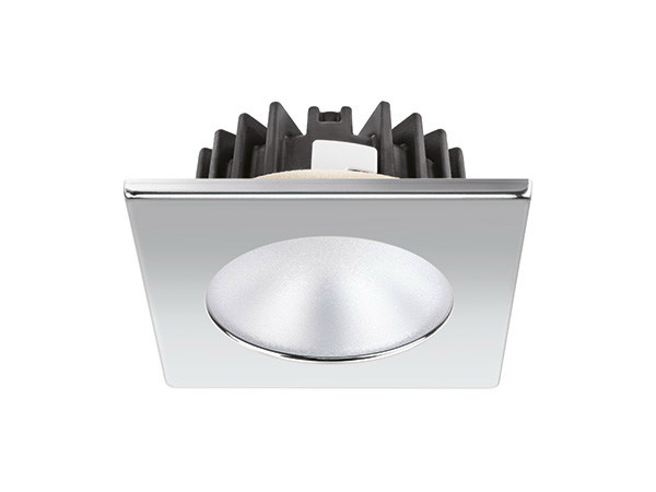 LED recessed stainless steel spotlight BLAKE XP HP 6W by Quicklighting