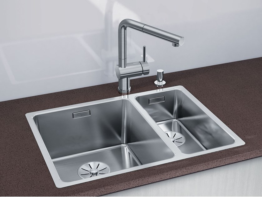 Built-in stainless steel sink BLANCO ANDANO 340/180-IF by Blanco