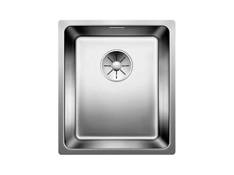 Lavello a una vasca sottotop in acciaio inox BLANCO ANDANO 340-U by Blanco