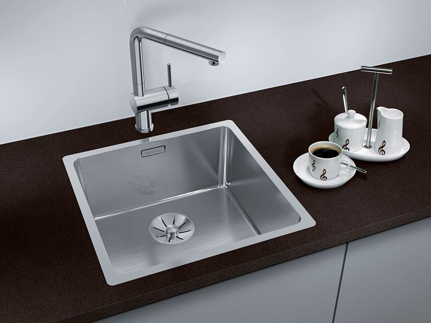 Single stainless steel sink BLANCO ANDANO 400-IF by Blanco