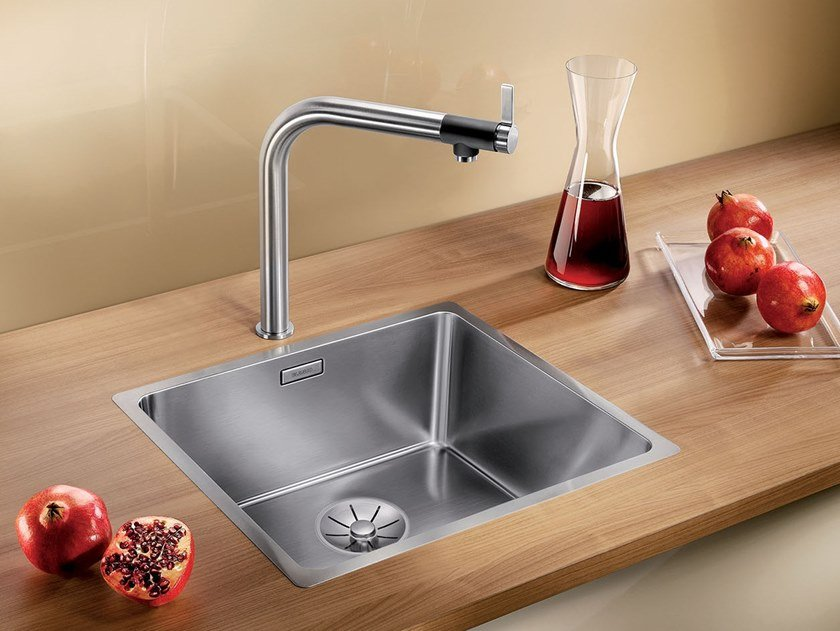 Single stainless steel sink BLANCO ANDANO 450-IF by Blanco