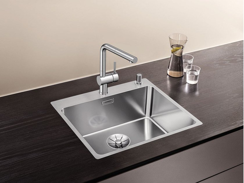 Single stainless steel sink BLANCO ANDANO 500-IF/A By Blanco