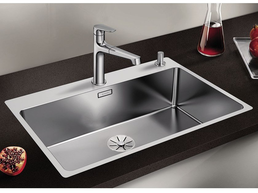 Single stainless steel sink BLANCO ANDANO 700-IF/A by Blanco