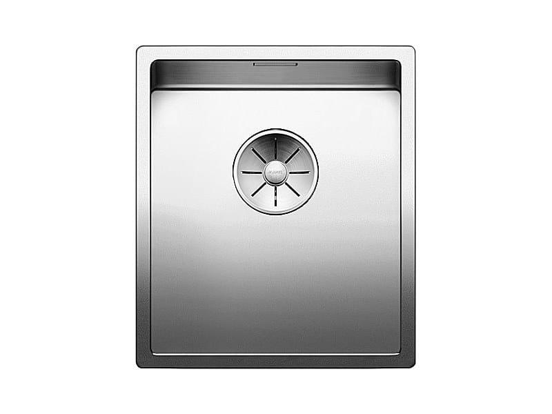 Single undermount stainless steel sink BLANCO CLARON 340-U by Blanco