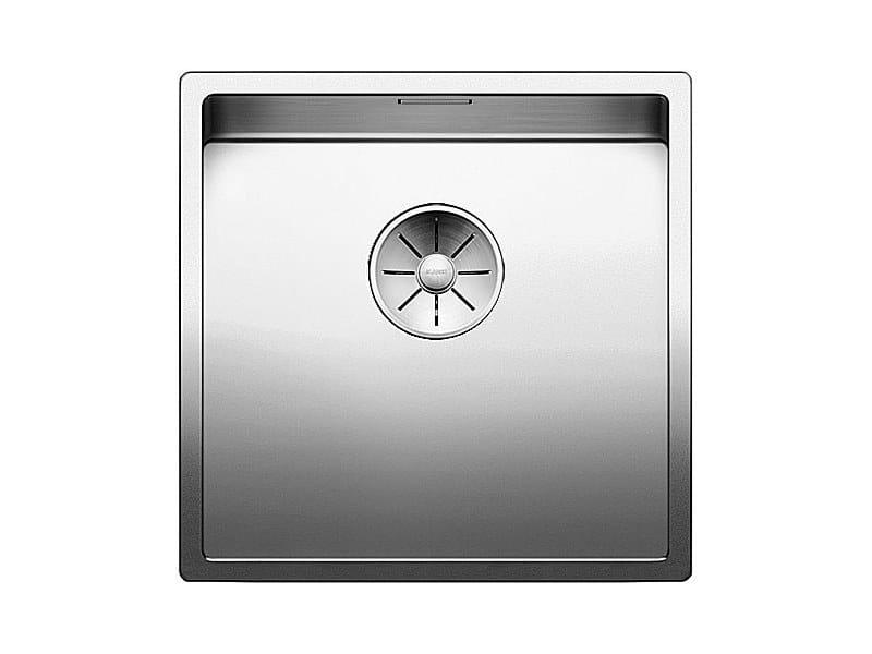 Lavello a una vasca sottotop in acciaio inox BLANCO CLARON 400-U by Blanco