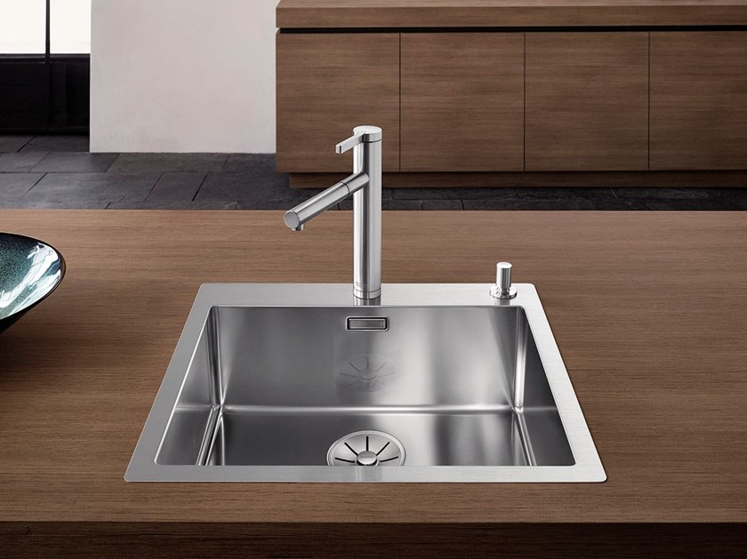 Single built-in stainless steel sink BLANCO CLARON 500-IF/A by Blanco