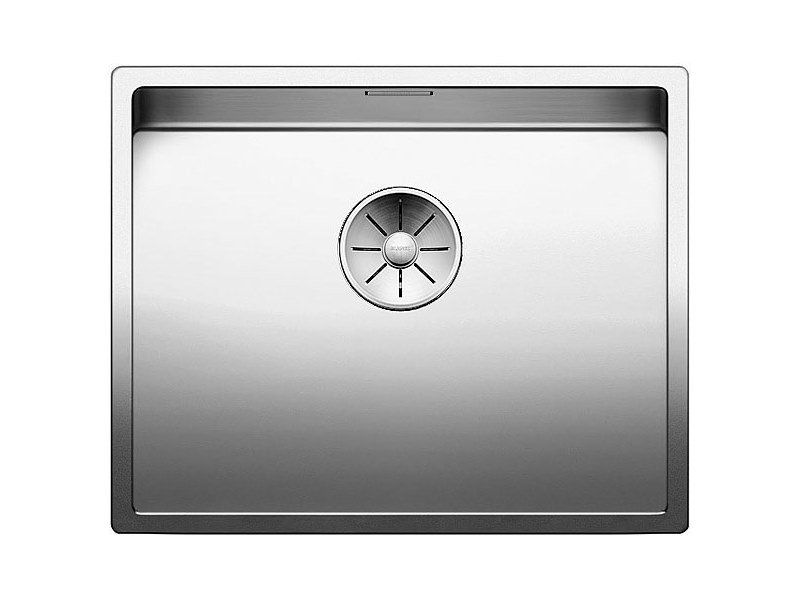 Single undermount stainless steel sink BLANCO CLARON 500-U by Blanco