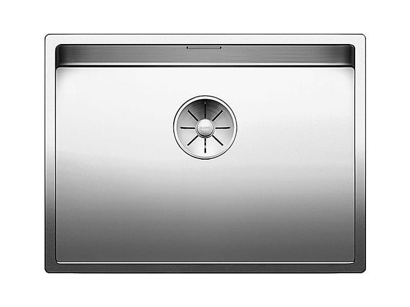 Lavello a una vasca sottotop in acciaio inox BLANCO CLARON 550-U by Blanco