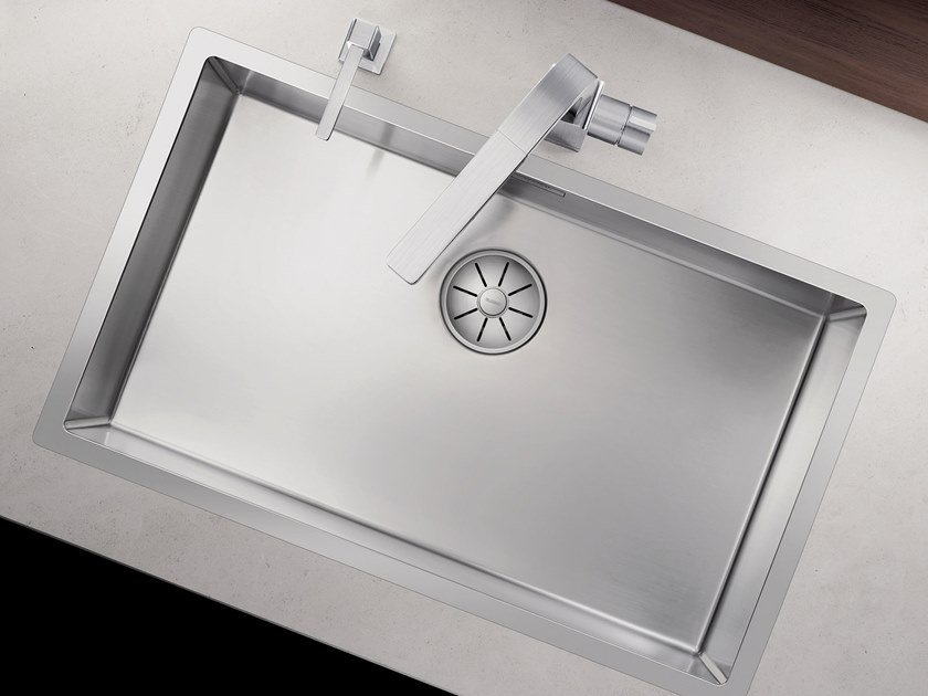 Single built-in stainless steel sink BLANCO CLARON 700-IF by Blanco