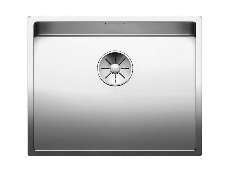 Lavello a una vasca sottotop in acciaio inox BLANCO CLARON XL 60-U by Blanco