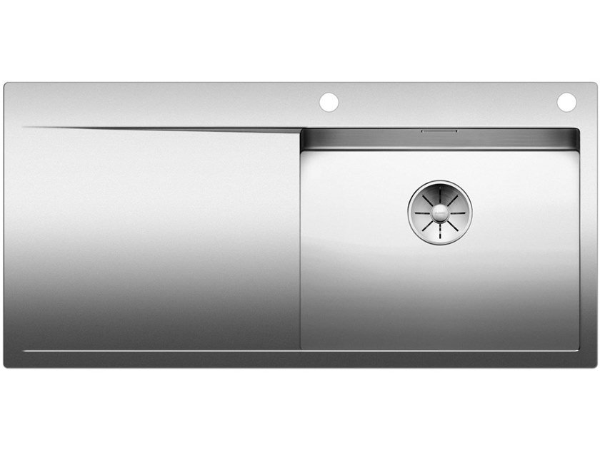Built-in stainless steel sink with drainer BLANCO FLOW XL 6 S-IF by Blanco