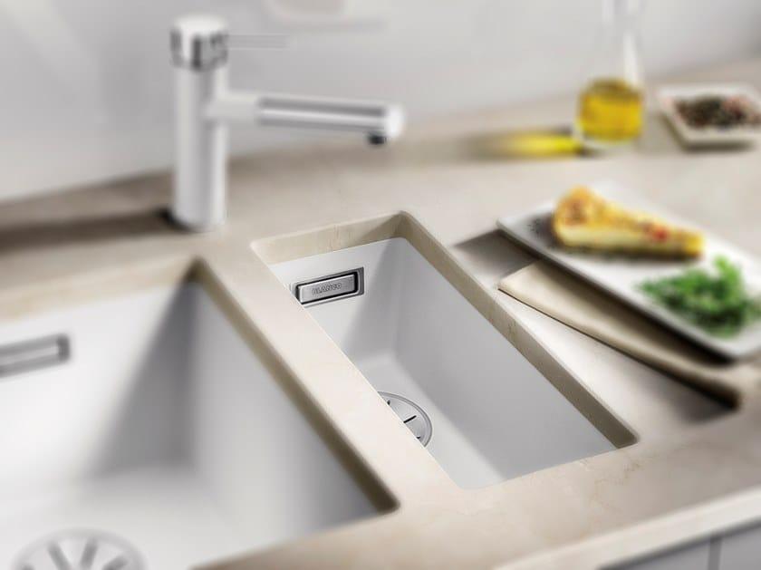 Single built-in Silgranit® sink BLANCO SUBLINE 160 U by Blanco