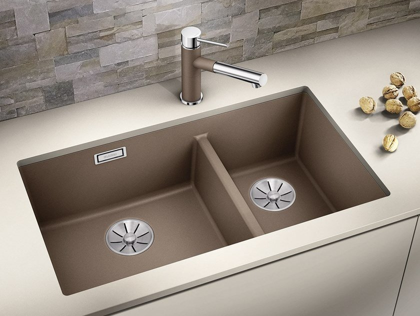 1 1/2 bowl undermount Silgranit® sink BLANCO SUBLINE 430/270 U by Blanco