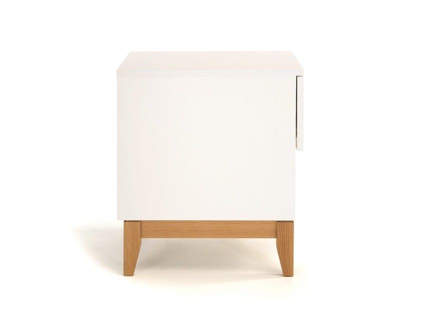 BLANCO | Tavolino con vano contenitore