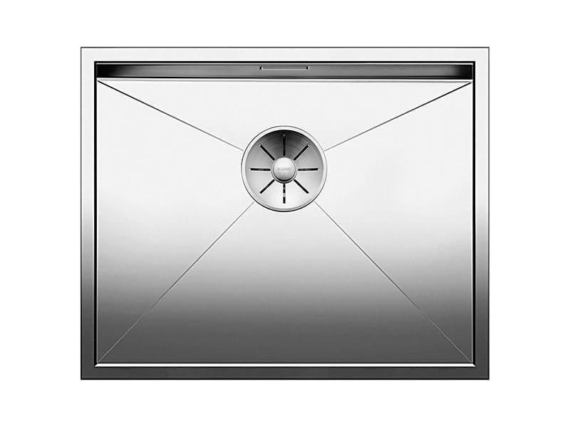 Single flush-mounted stainless steel sink BLANCO ZEROX 500 U by Blanco