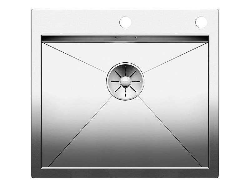 Single flush-mounted stainless steel sink BLANCO ZEROX 500 IF/A by Blanco