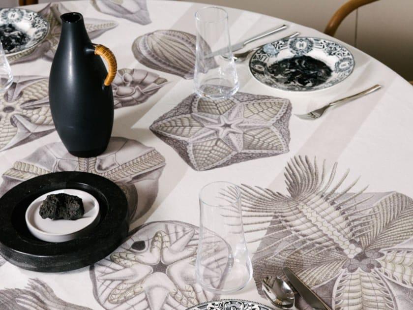 Linen tablecloth BLASTOIDEA | Tablecloth by The NapKing