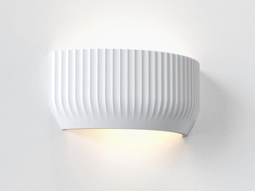 Applique a LED a luce diretta e indiretta in gesso in stile moderno BLEND by Astro Lighting