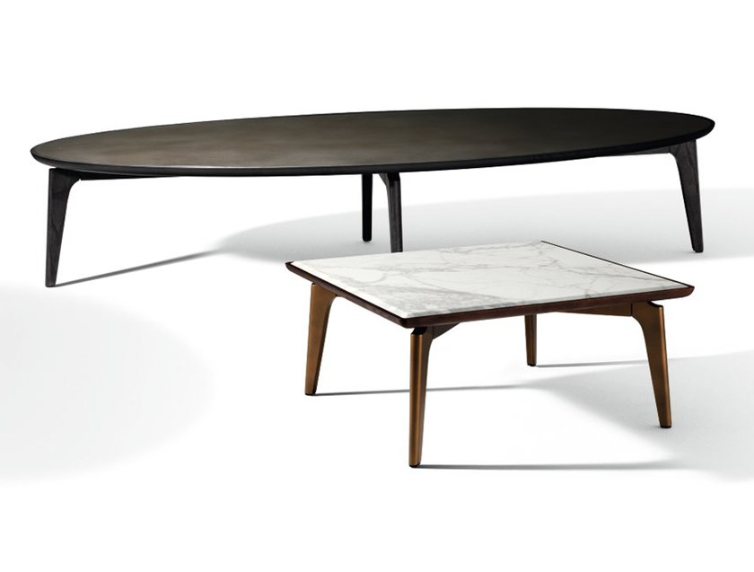 Square marble coffee table BLEND | Square coffee table by GIORGETTI