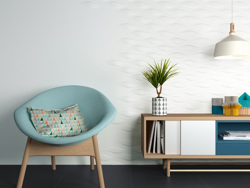White-paste wall tiles BLEND by ZYX