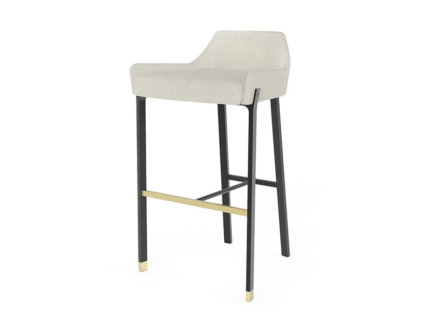 Barstool with footrest BLINK   Barstool by STELLAR WORKS