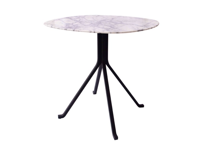 Round natural stone table BLINK CAFÉ TABLE | Natural stone table by STELLAR WORKS