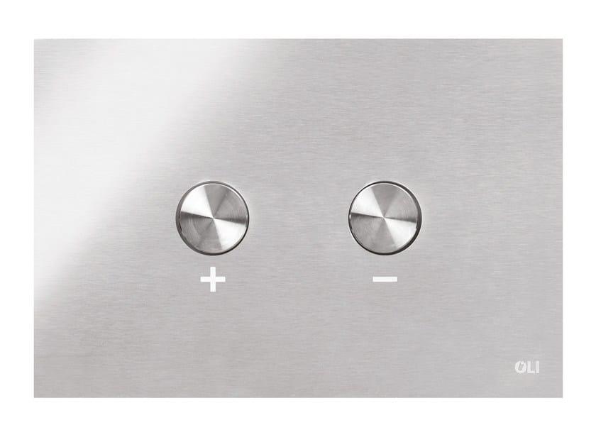 Stainless steel flush plate BLINK by OLI