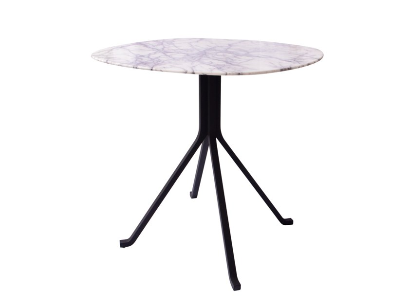 Round stone table BLINK | Stone table by STELLAR WORKS