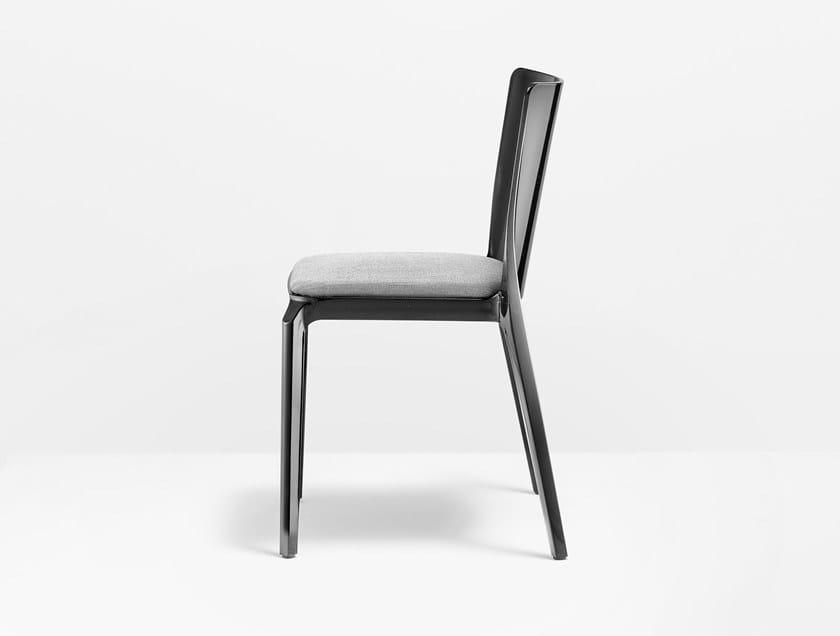 Sedia impilabile in policarbonato BLITZ by PEDRALI