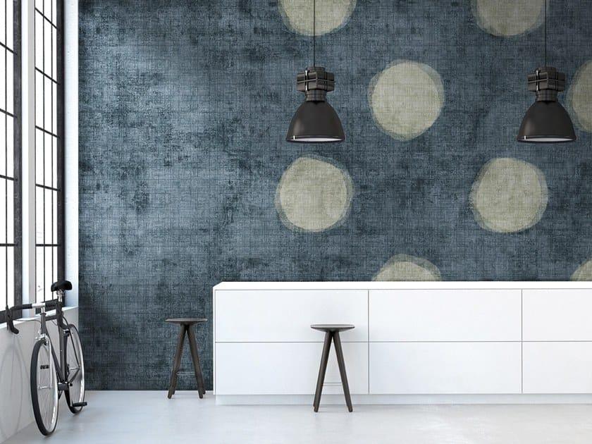 Vinyl or fyber glass wallpaper BLOBS by N.O.W. Edizioni