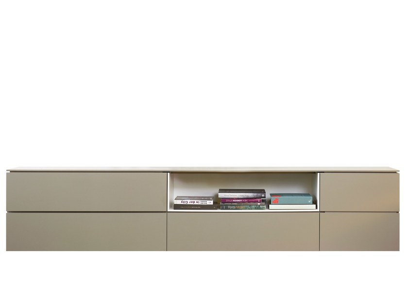 Lacquered MDF sideboard BLOC by more