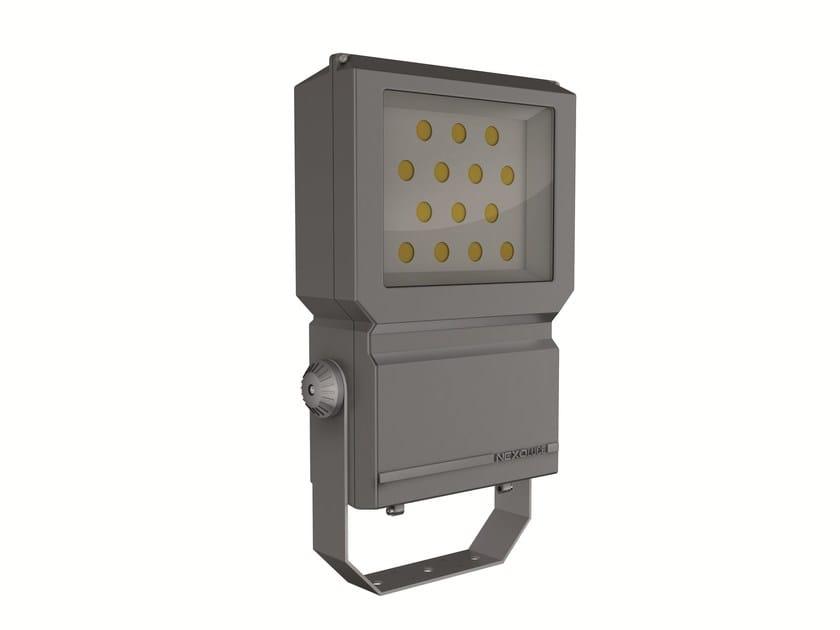LED adjustable aluminium Outdoor floodlight BLOCCO 112 by NEXO LUCE