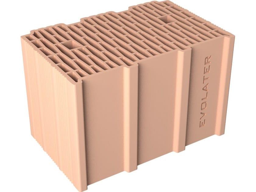 Blocco per tamponamento in laterizio BLOCCO INCASTRO 38X25X25 by Fornaci DCB