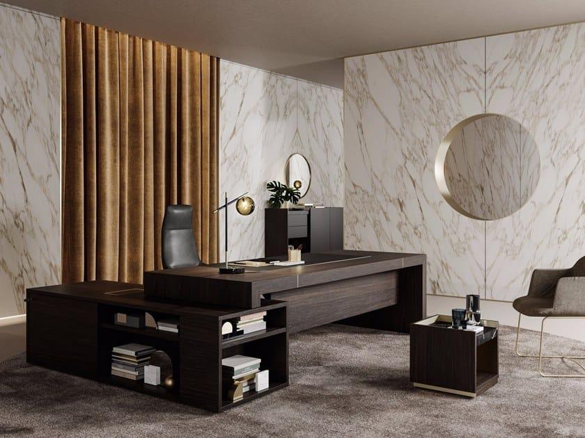 Wooden executive desk BLOCK 2.0 | Executive desk by PROF