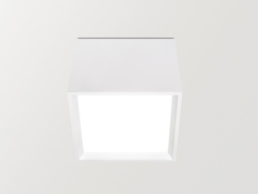 LED aluminium ceiling lamp BLOCK by Arkoslight
