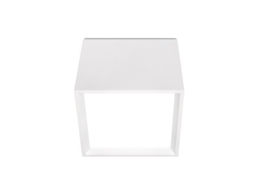 Lampada da soffitto a LED in alluminio BLOCK by Arkoslight