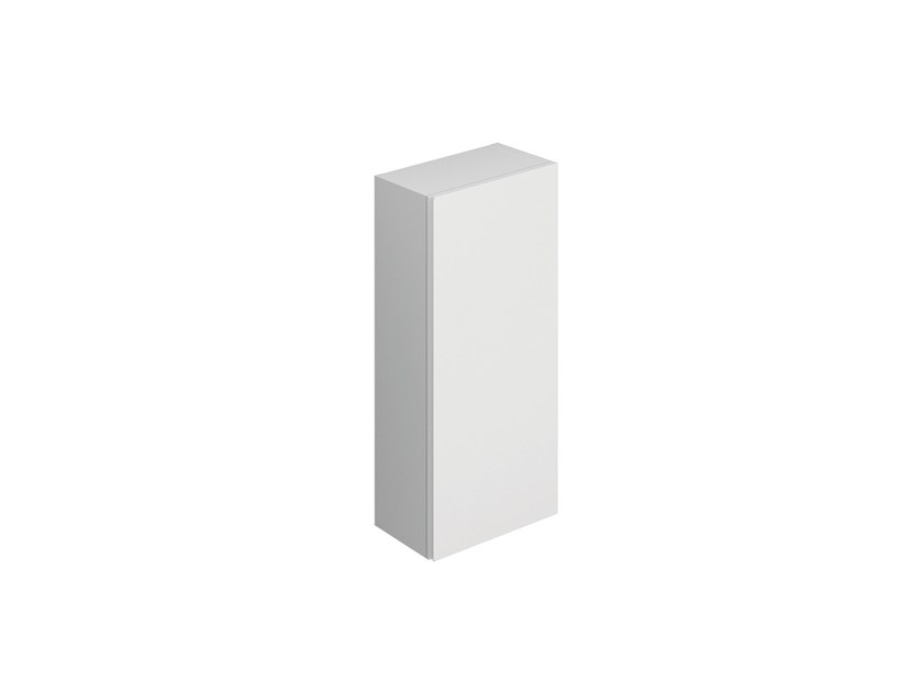 Tall bathroom cabinet with doors BLOCK EVO 719001407 | Bathroom cabinet by Cosmic