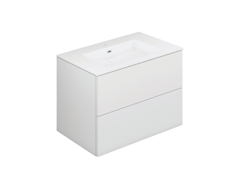 Lacquered vanity unit with drawers BLOCK EVO 719011403 | Vanity unit by Cosmic