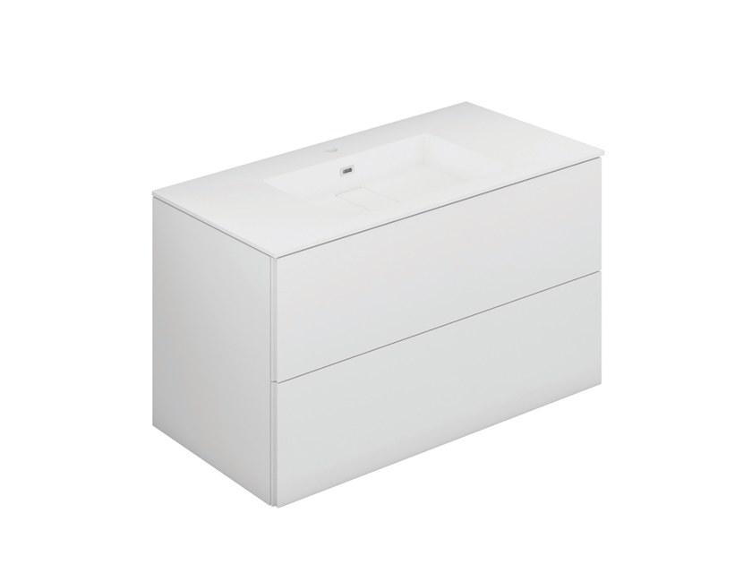 Lacquered vanity unit with drawers BLOCK EVO 719011803 | Vanity unit by Cosmic