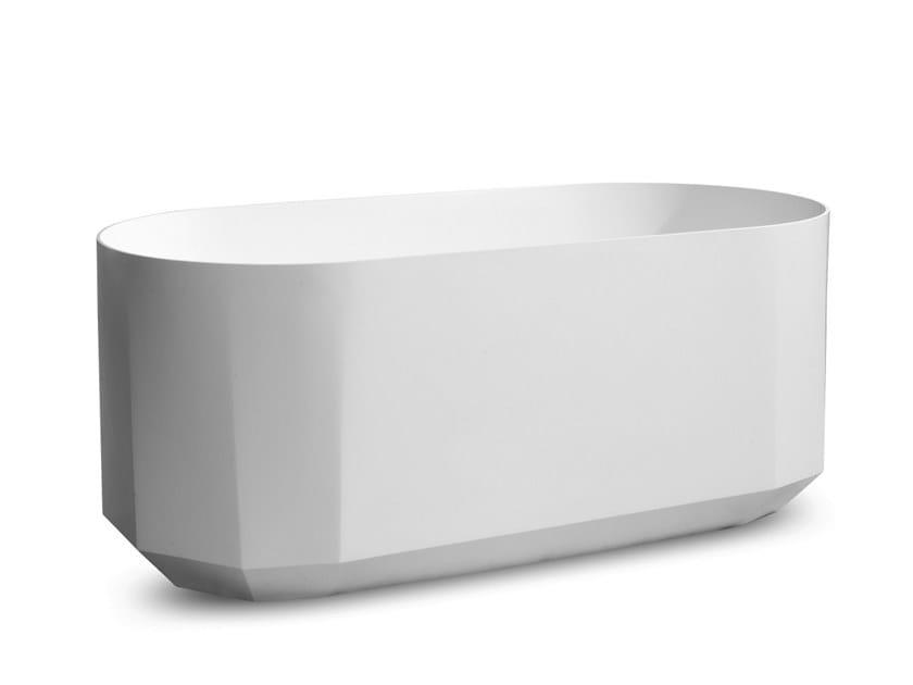 Baignoire ilôt ovale en résine BLOOM BATH by JEE-O