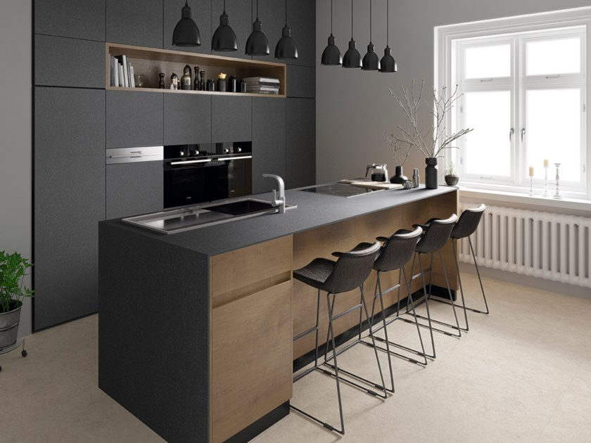 Surface for worktops and furniture BLOOM ITOPKER by Inalco