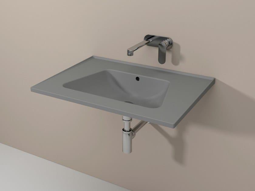 Bloom lavabo sospeso by ceramica flaminia design angeletti ruzza