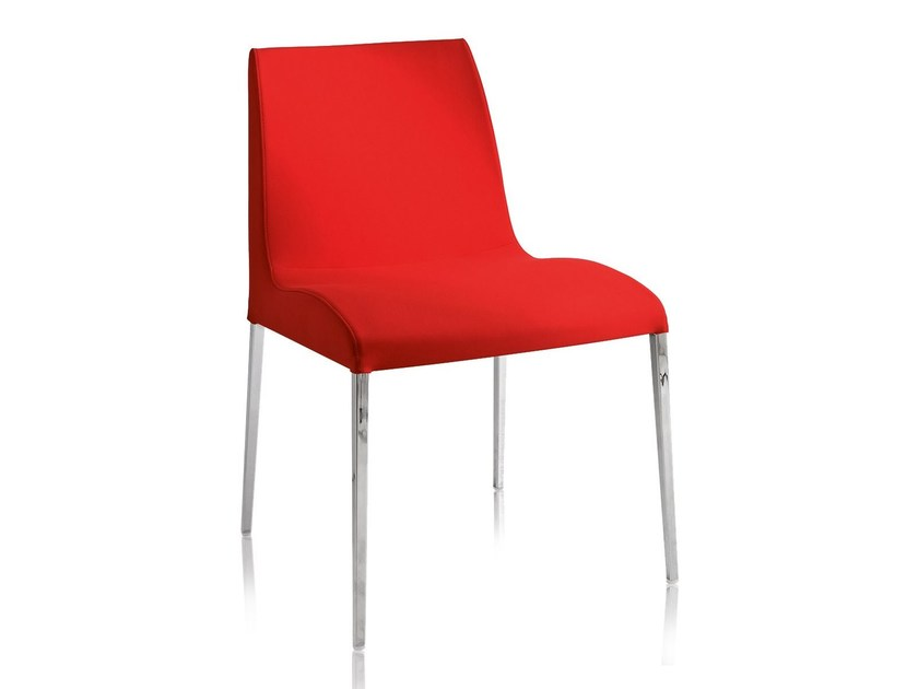 Steel chair with fire retardant padding BLOOM M by CHAIRS & MORE