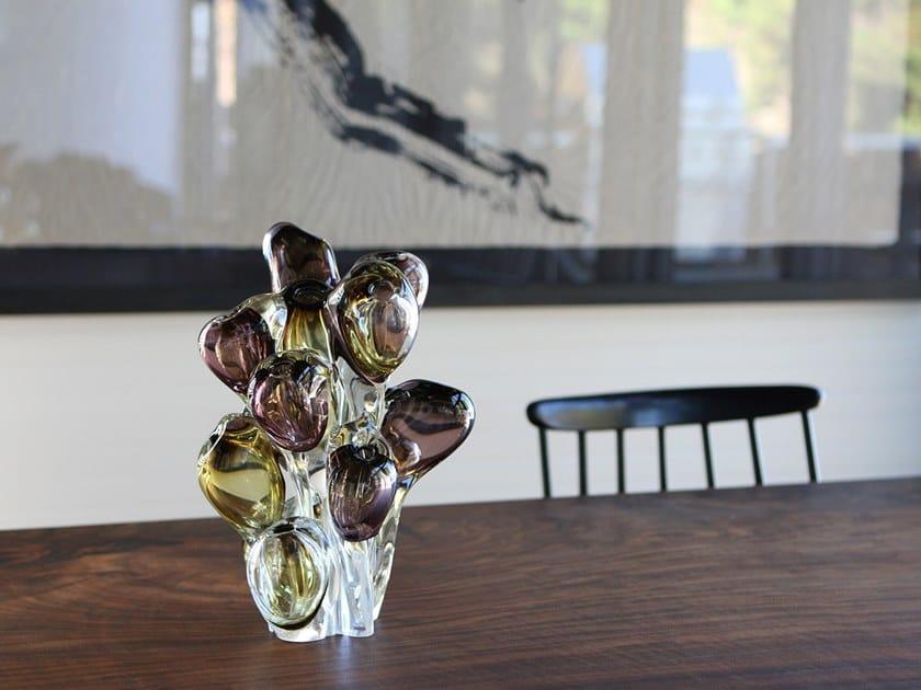 Blown glass decorative object BLOOM OBJECT by SkLO