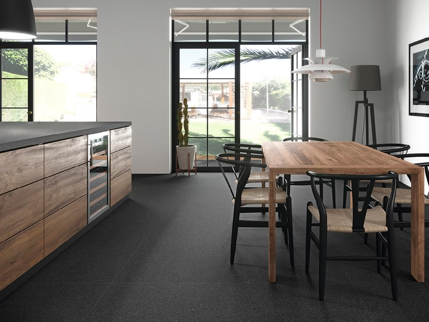 Wall/floor tiles with granite effect BLOOM by Inalco