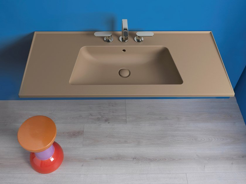 Wall-mounted washbasin BLOOM | Washbasin by CERAMICA FLAMINIA